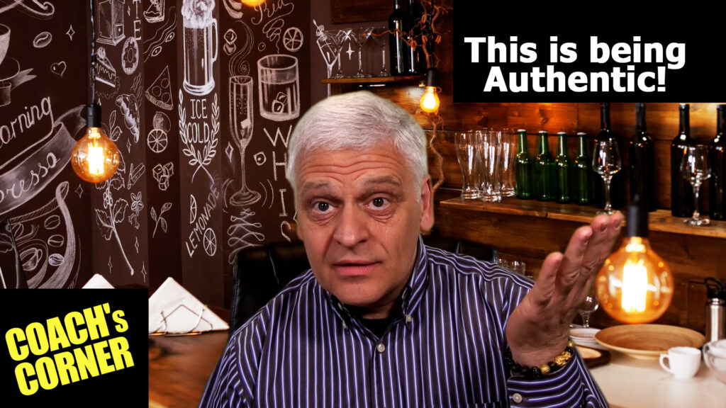 Are you being authentic? Really?