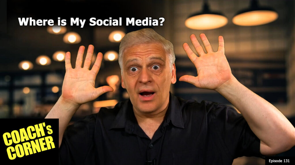 Hey, you see my social media?